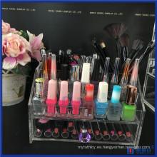 Vanity Luxary Mejor Acrílico Organizador de maquillaje grande