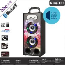 Creative design LED screen display 10W earphone speaker