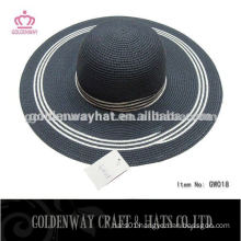 High Quality Paper Straw Ladies Beach Hat