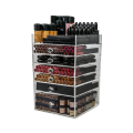 Acrylic 6 Drawers Makeup Organizer Storage Cube