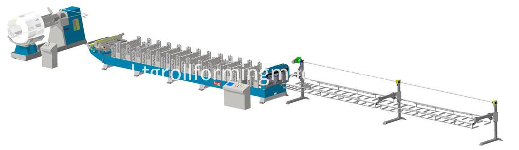 Shelving Post Making Machine