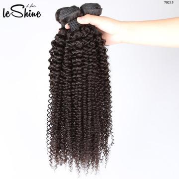 2017 Идеальное 100% Необработанные Девы Малайзии Афро Кудрявый Свободный Образец Волосы Расслоения