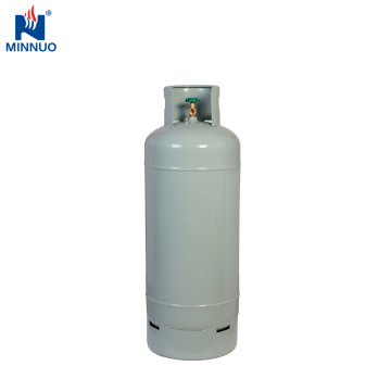 Big 100lb empty lpg propane cooking steel gas cylinder for Brazil