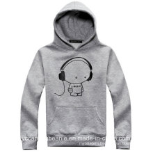 Custom Screen Print Mens′ Promotion Hoodie