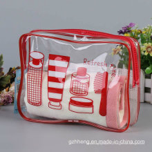 Personalizado impresso Stand up Plastic Zipper Bag (caixa de plástico macio)