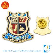 Fornecimento China Alta qualidade personalizado liga estampagem crachá Pin no preço de fábrica