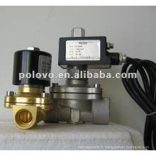 ZCM normalement fermé soupape à gaz en laiton basse pression