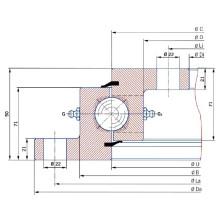 Торсионный фланец с кольцевым подшипником SD. 1500.32.00. С