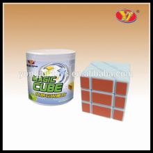 YongJun forme tordu pêcheur yileng magic puzzle cube plastique argent boîte de rangement