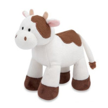 soft custom plush toy Christmas Cow Custom Plush Toys