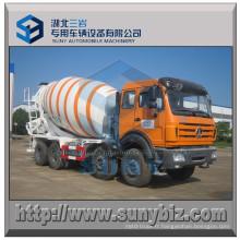 Mélangeur de béton du benz du nord 8X4 du camion 16 de mélangeur de M3 16