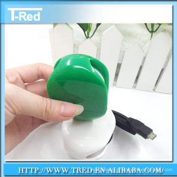 Venda por atacado mini fone de ouvido mini cabo enrolador / fone de ouvido enrolador de cabo