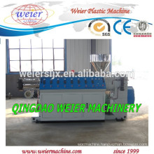 PVC WPC twin screw extruder machinery for Plastic profile make