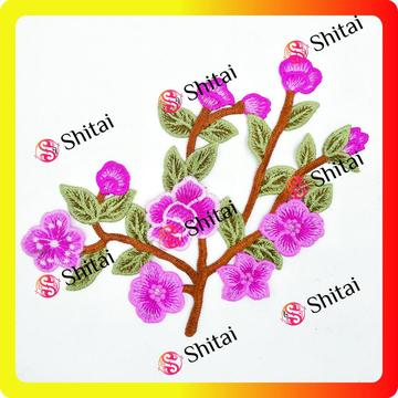 Wholesale High Quality Customized Sew On Flower