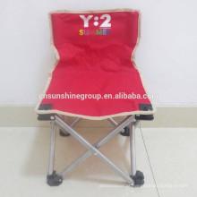 Pequena cadeira camping dobrável, leve cadeira de acampamento de dobramento