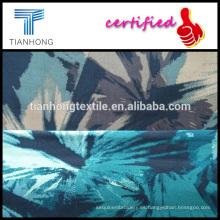 popelín de algodón 100 impresión tropical diseño dos colores camuflaje mirada tejer tela de peso ligero de corto