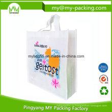 Промо-легкий шопинг БОПП ламинированные нетканые ткани мешок