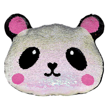 PANDA REVERSIBLE SEQUIN PILLOW-0