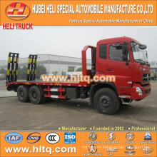 DONGFENG brand DFL 260hp load 22tons 6X4 machine equipment transport truck newly produced export for Africa.