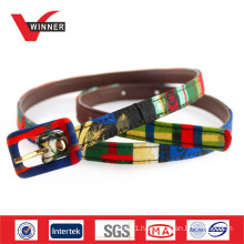 2015 Colorful fashion web belts