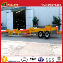 20FT 40FT 45FT Cimc Optional Skeletal Container Chassis Semi Trailer