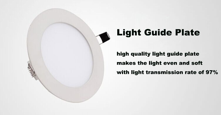 3W round led light panel