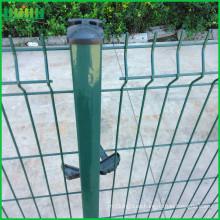 Fabricación ISO9001 PVC recubierto soldado malla de alambre de cercado