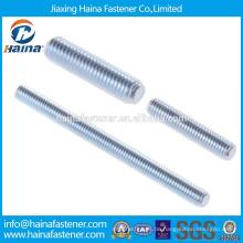 DIN975Carbon Stahlgüte 4.8 verzinkt Gewindestange / Zink Gewindestange