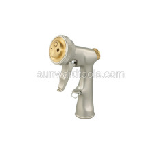 Deluxe multi-pattern metal spray gun