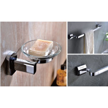 Luxury Bathroom Accessories Soap Holder and Towel Rack (PJ15)
