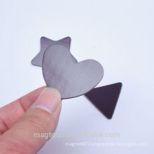personalized wholesale creative different shape rubber magnet sheet