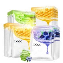 Beauty Oil Control Whitening Face Skin Care Mask Vegan Natural Plant Extracts Sheet Facial Mask