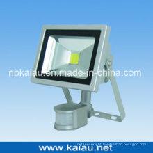 20W COB LED Floodlight with PIR Sensor