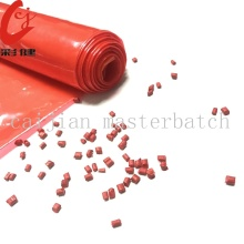 Red Blowing Film Color Masterbatch Granule