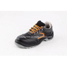 Sapatos de esportes de moda Sapatos de segurança de couro Botas de borracha de calçado de trabalho