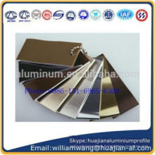 Durable Waterproof high quality Kitchen Skirting Aluminum Profiles Dry Kitchen Metal Cabinet Plinth