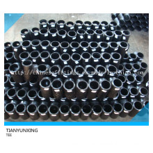 Butt Welded Carbon Steel Equal Seamless Fittings Tee