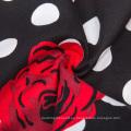 Grace Karin Retro Vintage 1950 plisados algodón falda de impresión floral CL6294-25