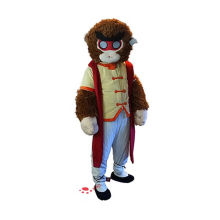 Film plush monkey king mascot costume
