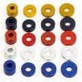 Many Kinds of Colorful Anodized Aluminum Flat Washer