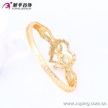 Последние мода элегантный 18k Xuping позолоченные в форме сердца ювелирные изделия браслет с деревенским стилем