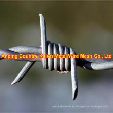 Galvanizado de la alambrada / del alambre de afeitar / alambre de púas (fábrica de 30 años)
