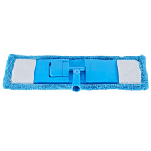 Home Tool Blue Quick Scrub Mop,Cleaning Microfiber Flat Mop Head