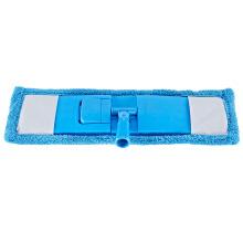 Home Tool Blue Quick Scrub Mop,Cleaning Microfiber Flat Mop Head