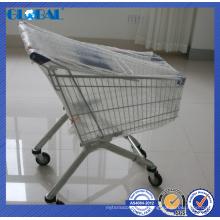 Produtos de malha de arame de supermercado trole / carrinho para fazer compras