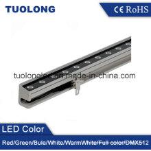 El proyecto fácil ocultado alambre de la lavadora de pared de 18W LED instala la lámpara del LED