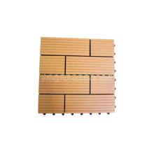 Telha de revestimento rachadura-Resistente Anti-UV madeira Wood-Like da madeira WPC