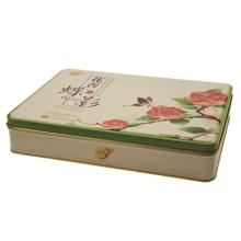 Boîte en étain pour paquets de thé