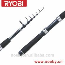 Gaca de pesca de carbono IM8 haste de fiação telescópica RYOBI spin rod pesca esportiva