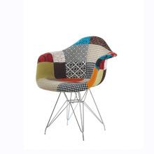 Esszimmerstühle aus Kunststoff Papeller Arm Rebar Support Chair
